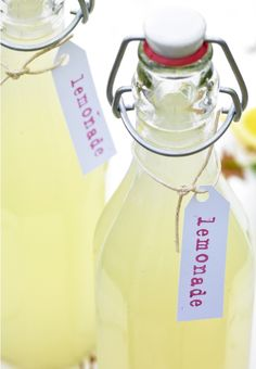 Have to try this  Probiotic Lemonade.  INGREDIENTS  • 12 lemons • 1/2 – 1 cup cane sugar  • 1 cup whey • water • 1 gallon jar, sterilized  DIRECTIONS  Juice the lemons and pour into jar. Dissolve the sugar in some water in a pan then add to juice. Add whey and top up with water. Leave out for 2 days (for fermentation) before drinking. It will become loaded with good bacteria for your gut and the actual sugar content will be pretty low.