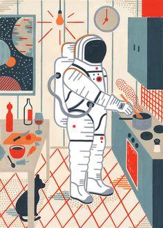 Ricette futuriste illustrate - Il Post