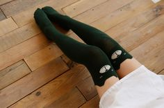 Warm autumn and winter Women Cute 3D Cartoon Animal Pattern Thigh Stockings Over Knee High Socks gxw003