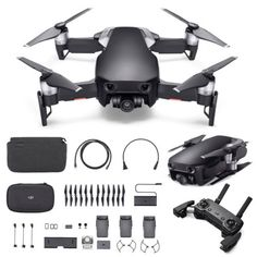 3 Battery DJI Mavic Air Fly More Combo Drone 32MP 4K Camera RC Quadcopter Toy SG