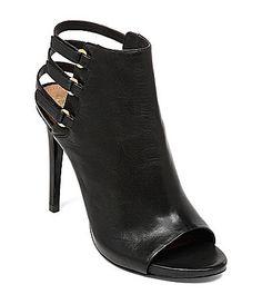8ed99e1bb9ddc Vince Camuto Fenette PeepToe Shooties  Dillards Vince Camuto Shoes