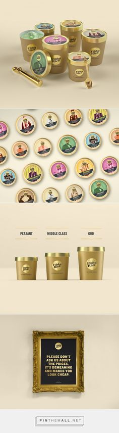 Filthy Rich Ice Cream Packaging by Milk NZ Limited   Fivestar Branding Agency – Design and Branding Agency & Curated Inspiration Gallery