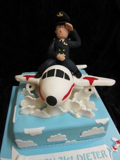 Pilot Cake | by Carrie's Creative Cakes