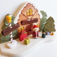 Wooden Toys handmade in Australia. Miss Molly's Dolls and Toys ships Australia wide. Childhood Toys, Early Childhood, Wooden Toys Australia, Doll Toys, Dolls, Handmade Wooden Toys, Doll Maker, Nativity, Gingerbread