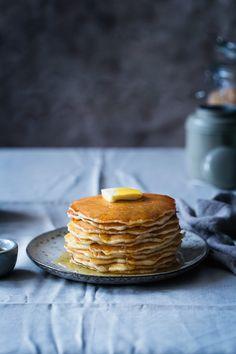 Tortitas americanas ¿desayunamos juntos?