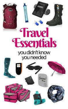 Travel Essentials You Didn't Know You Needed. It is a new year. Maybe you have decided to travel more this year. Travelling has never been easier. With useful products like packing cubes laundry bags and mobile hotspots make travelling a lot more comfort Packing List For Travel, Packing Cubes, Travel Europe, Luggage Packing, Europe Packing, Norway Travel, Florida Travel, California Travel, Northern California