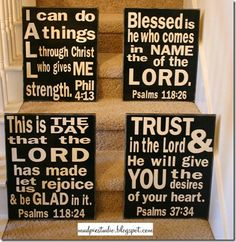 subway bible verses