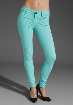 Mint Green Skinny Jeans ♥