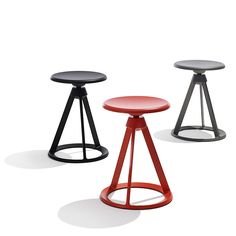 Barber Osgerby's Piton™ Height Adjustable Stools for Knoll, 2015 | Knoll Inspiration