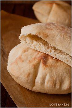 pita-3 Tortellini, Vegan Recipes, Bread, Buns, Food, Kitchen, Cooking, Meal, Bread Rolls