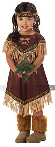 Lil' Indian Princess Girl's Costume, Large, One Color >>> Find out more about the great product at the image link.
