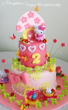 Hello Kitty Cake! So much detail! I luv it!