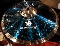 Stewart Copeland's Signature Blue Ride by Paiste 'The Rhythmatist' oh yeah! Sound Of Music, Music Love, Adele, Girl Drummer, Pearl Drums, Drum Room, Instruments, Drum Music, How To Play Drums
