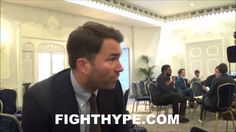 EDDIE HEARN GIVES UPDATE ON ANTHONY JOSHUA'S NEXT FIGHT; BETWEEN PARKER,...