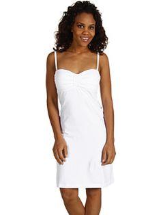 Tommy Bahama Pearl Foam Cup Dress White - 6pm.com