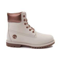 e2d28c85c97 Womens Timberland 6 Metallic Collar Premium Boot - gray - 538437 Timberland  Classic