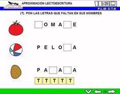 MATERIALES - MATERIALES - Aproximación a la lectoescritura: P -L - M - S - T - N. Libros interactivos multimedia (LIMs) de actividades de aproximación a la lectoescritura para Educación Infantil y 1º ciclo con pictogramas de ARASAAC y fotos en letra cursiva Escolar 2.