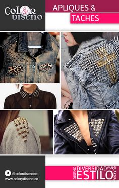 Apliques y Taches Shopping, Fashion Trends, Appliques, Stains