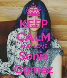Keep calm: Sonia Gomez (03)