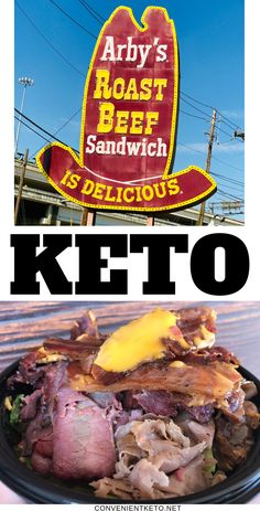 Keto at Arby's is super easy, and there are TONS of keto meal combinations! We give you a detailed guide of keto options along with our favorite combinations! Low Carb Keto, Low Carb Recipes, Diet Recipes, Healthy Recipes, Clean Recipes, Cooker Recipes, Diet Plan Menu, Keto Meal Plan, Diet Plans