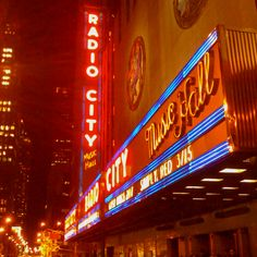 Radio City NYC