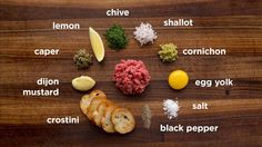 Traditional Beef Tartare