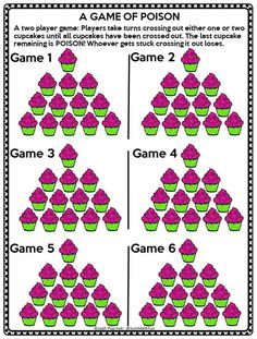 "Most games require strategy and have some luck built in. But not this free strategy game. There is no luck. It is all about logic and strategy! Your kids will love playing this simple game with not-so-simple strategy. Find out all the ""how to's"" and download the free game in this post. #freegame #freelogicgame #freestrategygame Logic Games, Logic Puzzles, Math Games, Brain Games, Maths, Fun Math Activities, Elderly Activities, Dementia Activities, Physical Activities"