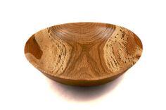 Hand Turned Oak Bowl.  Great gift idea for a catch all bowl for dads who can't keep track of their keys and wallet!