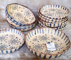 Pottery Bowls, Ceramic Bowls, Ceramic Pottery, Pottery Art, Ceramic Painting, Ceramic Art, Pottery Handbuilding, Hand Built Pottery, Japanese Ceramics