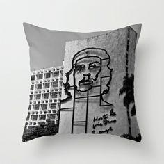 HASTA LA VICTORIA Throw Pillow by mayavisual - $20.00