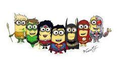 minion superheroes - Google Search