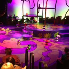 The set for Seussical the musical. What a fantastic show!!