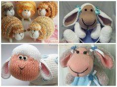 Овечка спицами. Crochet Hats, Teddy Bear, Toys, Oita, Knitting Hats, Activity Toys, Clearance Toys, Teddy Bears, Gaming