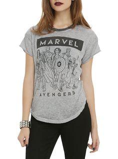 Marvel Group Girls T-Shirt,