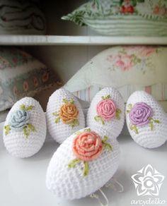 Crochet Cactus, Crochet Leaves, Cute Crochet, Beautiful Crochet, Crochet Flowers, Easter Crochet Patterns, Crochet Patterns Amigurumi, Crochet Toys, Easter Toys