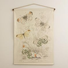 One of my favorite discoveries at WorldMarket.com: Butterflies Tapestry