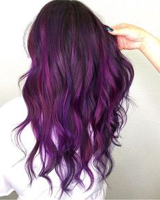 Playing With Purple: Image Gallery of Gorgeous Purple Hair Color