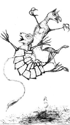 Mock Turtle and Gryphon by Lewis Carroll