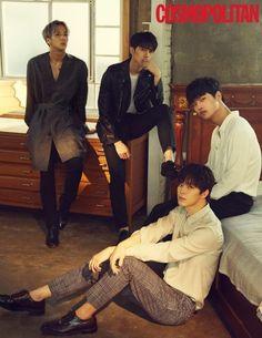 VIXX Shows Off Their Sexy Fall Season Looks in 'Cosmopolitan' Photoshoot Jung So Min, K Pop, Revista Instyle, Leo, Sung Joon, Vixx Members, Ravi Vixx, Vixx Hongbin, Park Seo Joon