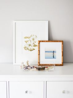 Pretty vignette with our Mandalay and Irvine Slim frames from @mckenziefussell