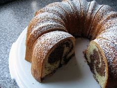 A nice, easy cake that I have made countless times. A wonderful coffee cake! Dukan Diet Plan, Chocolate Marble Cake, Sugar Free Vegan, Food Fantasy, Polish Recipes, Polish Food, Healthy Sweets, Light Recipes, Coffee Cake