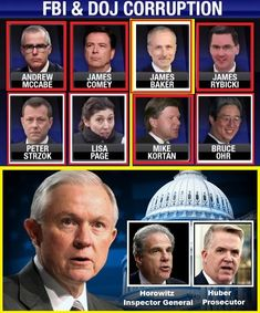 Key DOJ and FBI Names Likely to Surface Amid IG Investigative Reports and Referrals… | The Last Refuge