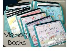 Finished Memory Books!