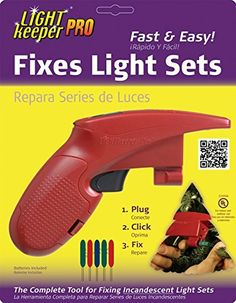 Ulta Lit 1222 Light Keeper Pro Complete Tool For Fixing Miniature Sets44 Pack 2 Fix Christmas Lightspre
