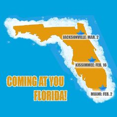 Florida 5k Foam Fest races coming soon!