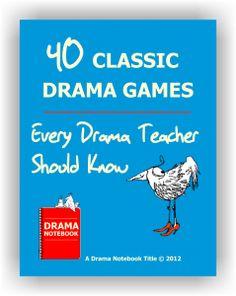 Drama Games   Drama Notebook