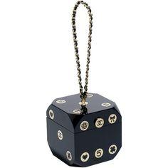 バッグ ❤ liked on Polyvore featuring bags, handbags, chanel, clutches, white handbags, white bags and white purse