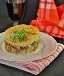 Картофельная запеканка с мясом