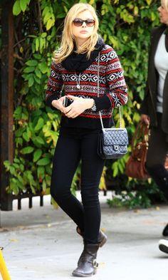 Chloe Moretz casual look