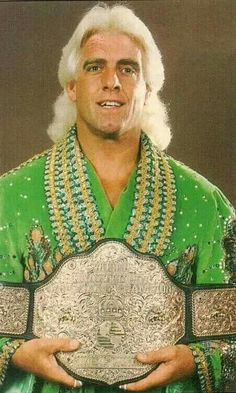 Ric Flair WCW World Heavyweight Championship (8 times)